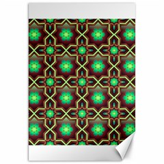 Pattern Background Bright Brown Canvas 20  X 30