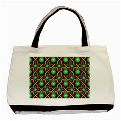 Pattern Background Bright Brown Basic Tote Bag (Two Sides)
