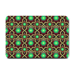 Pattern Background Bright Brown Small Doormat