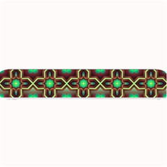 Pattern Background Bright Brown Small Bar Mats