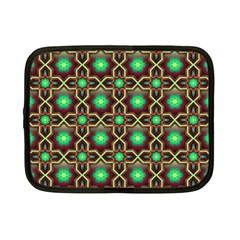 Pattern Background Bright Brown Netbook Case (small)