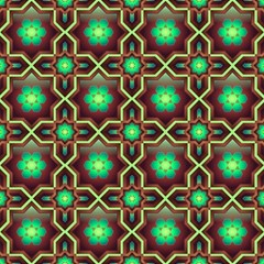 Pattern Background Bright Brown Magic Photo Cubes