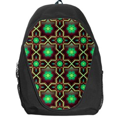 Pattern Background Bright Brown Backpack Bag
