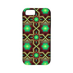 Pattern Background Bright Brown Apple iPhone 5 Classic Hardshell Case (PC+Silicone)