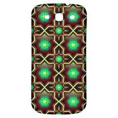 Pattern Background Bright Brown Samsung Galaxy S3 S Iii Classic Hardshell Back Case