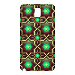 Pattern Background Bright Brown Samsung Galaxy Note 3 N9005 Hardshell Back Case