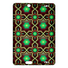 Pattern Background Bright Brown Amazon Kindle Fire Hd (2013) Hardshell Case