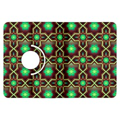 Pattern Background Bright Brown Kindle Fire Hdx Flip 360 Case
