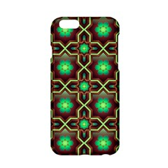 Pattern Background Bright Brown Apple iPhone 6/6S Hardshell Case
