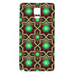 Pattern Background Bright Brown Galaxy Note 4 Back Case