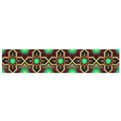 Pattern Background Bright Brown Flano Scarf (Small)