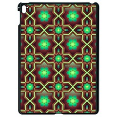 Pattern Background Bright Brown Apple Ipad Pro 9 7   Black Seamless Case