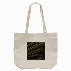 Fractal 3d Construction Industry Tote Bag (cream)