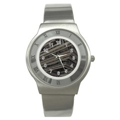 Fractal 3d Construction Industry Stainless Steel Watch