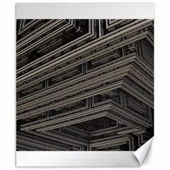 Fractal 3d Construction Industry Canvas 8  X 10