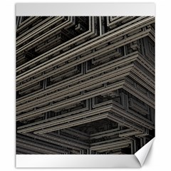 Fractal 3d Construction Industry Canvas 20  X 24