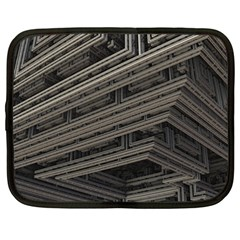 Fractal 3d Construction Industry Netbook Case (xxl)