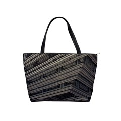 Fractal 3d Construction Industry Shoulder Handbags