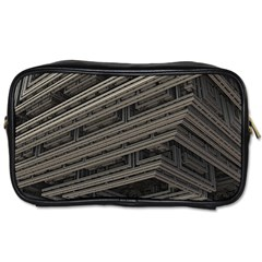 Fractal 3d Construction Industry Toiletries Bags 2 Side