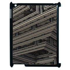 Fractal 3d Construction Industry Apple Ipad 2 Case (black)