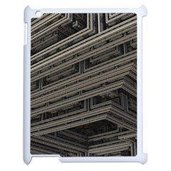 Fractal 3d Construction Industry Apple Ipad 2 Case (white)