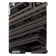 Fractal 3d Construction Industry Apple iPad 3/4 Hardshell Case (Compatible with Smart Cover)