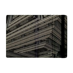 Fractal 3d Construction Industry Apple iPad Mini Flip Case