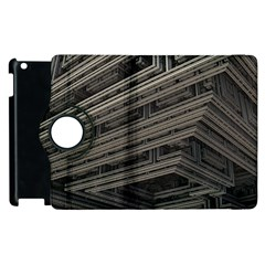 Fractal 3d Construction Industry Apple Ipad 3/4 Flip 360 Case