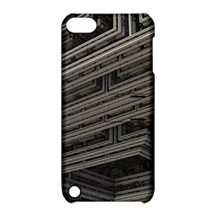 Fractal 3d Construction Industry Apple iPod Touch 5 Hardshell Case with Stand
