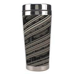 Fractal 3d Construction Industry Stainless Steel Travel Tumblers