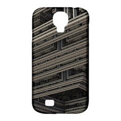 Fractal 3d Construction Industry Samsung Galaxy S4 Classic Hardshell Case (PC+Silicone)