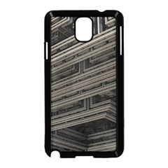 Fractal 3d Construction Industry Samsung Galaxy Note 3 Neo Hardshell Case (Black)
