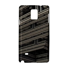 Fractal 3d Construction Industry Samsung Galaxy Note 4 Hardshell Case