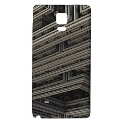 Fractal 3d Construction Industry Galaxy Note 4 Back Case