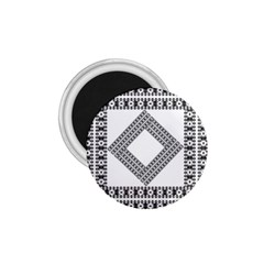 Pattern Background Texture Black 1.75  Magnets
