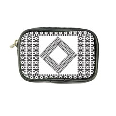 Pattern Background Texture Black Coin Purse