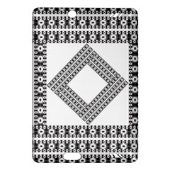 Pattern Background Texture Black Amazon Kindle Fire HD (2013) Hardshell Case