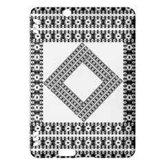 Pattern Background Texture Black Kindle Fire Hdx Hardshell Case