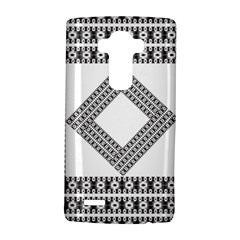 Pattern Background Texture Black LG G4 Hardshell Case