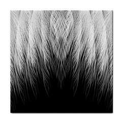 Feather Graphic Design Background Tile Coasters