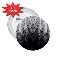 Feather Graphic Design Background 2.25  Buttons (10 pack)