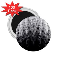 Feather Graphic Design Background 2.25  Magnets (100 pack)