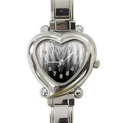 Feather Graphic Design Background Heart Italian Charm Watch