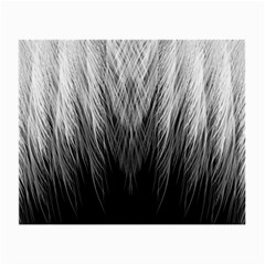Feather Graphic Design Background Small Glasses Cloth