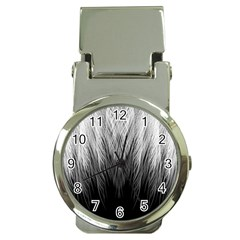 Feather Graphic Design Background Money Clip Watches