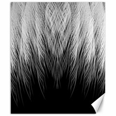 Feather Graphic Design Background Canvas 20  X 24