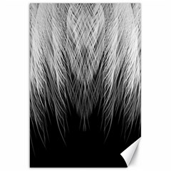 Feather Graphic Design Background Canvas 20  X 30