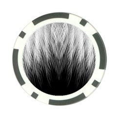 Feather Graphic Design Background Poker Chip Card Guard