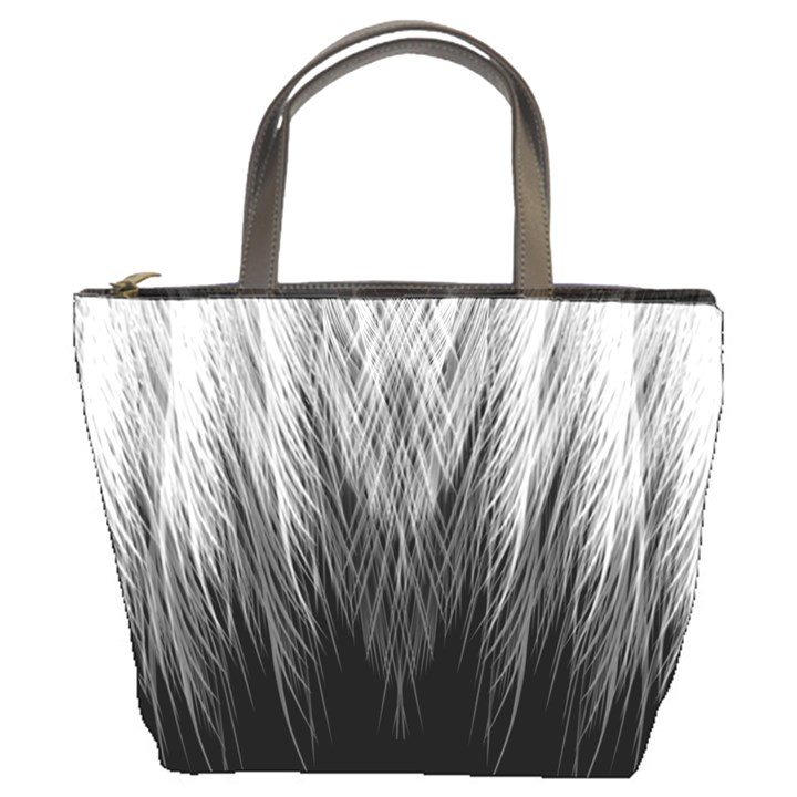 Feather Graphic Design Background Bucket Bags