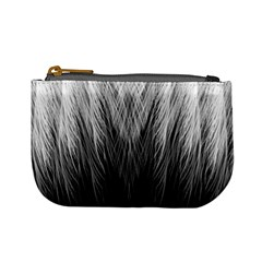 Feather Graphic Design Background Mini Coin Purses